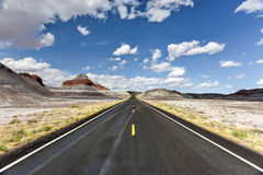 Il tepee - Forest National Park petrificato Fotografia Stock Libera da Diritti