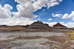 Il tepee - Forest National Park petrificato Fotografie Stock
