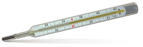 Il termometro medico Fotografia Stock
