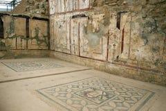 Il terrazzo di Ephesus alloggia il famoso, A d 1 Fotografia Stock