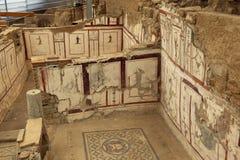 Il terrazzo di Ephesus alloggia l'interno Immagine Stock Libera da Diritti