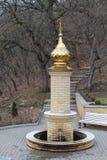Il territorio del monastero Immagine Stock