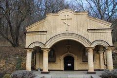 Il territorio del monastero Fotografia Stock
