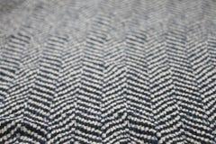 Il tessuto con lo zigzag rema il modello  Fotografia Stock
