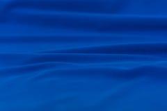 Il tessuto da arredamento blu li struttura Fotografie Stock