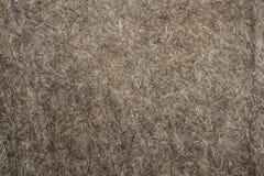 Il tessuto del feltro con lana collega il primo piano Immagine Stock