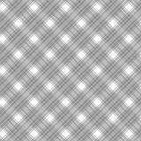 Il tessuto strutturato del plaid modella senza cuciture Fotografia Stock