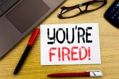 Il testo concettuale di scrittura della mano che vi mostra è infornato Concetto di affari per i disoccupati o scarico scritto su  Immagini Stock