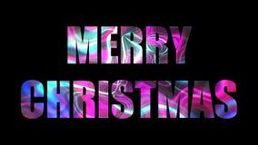 Il testo luminoso brillante di Buon Natale, 3d rende il fondo, computer che genera per la progettazione festiva di feste royalty illustrazione gratis