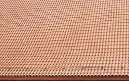 Il tetto è coperto di mattonelle Fotografia Stock