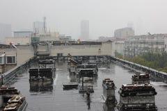 Il tetto Fotografia Stock