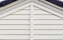 Il tetto bianco Immagine Stock