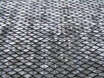 Il tetto copre di tegoli il modello Fotografie Stock Libere da Diritti