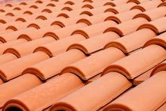 Il tetto copre la priorità bassa Fotografia Stock