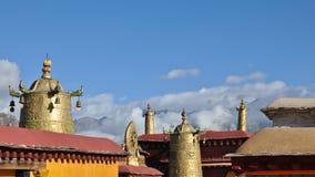 Il tetto del ½ santo del ¿ del ï del ½ del ¿ di Ê¥ï del tempiale di Jokhang fotografie stock