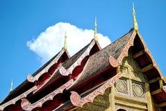 Il tetto del tempio Immagine Stock Libera da Diritti