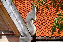 Il tetto del tempio Fotografia Stock