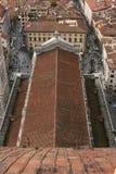 Il tetto della cattedrale Immagini Stock Libere da Diritti