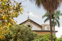 Il tetto della chiesa fotografia stock libera da diritti