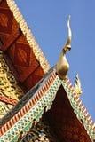 Il tetto di timpano Fotografia Stock