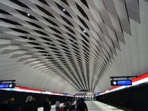 Il tetto di una stazione ed è alright ogni cosa? Fotografia Stock