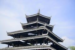 Il tetto di una torre Fotografia Stock