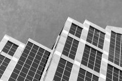 Il tetto incontra il cielo Immagini Stock