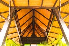 Il tetto nel giardino Immagine Stock