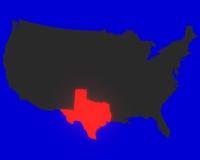 Il Texas Fotografia Stock Libera da Diritti
