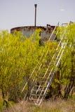 Il Texas - industria ed agricoltura Fotografia Stock Libera da Diritti