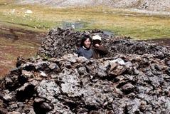 Il Tibet Fotografie Stock Libere da Diritti