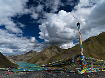 Il Tibet Fotografia Stock