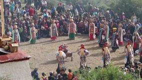Il Tibet 2015 video d archivio