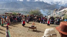Il Tibet 2015 stock footage