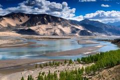 Il Tibet Cina Fotografie Stock