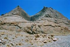 Il Tibet, gli specchi di tempo. Fotografia Stock