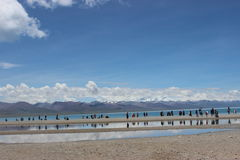 Il Tibet Nam Co Immagini Stock