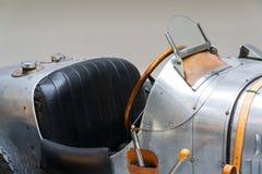 Il tipo 51 vettura da corsa prima di Bugatti dal 1931 sta in museo tecnico nazionale Immagini Stock Libere da Diritti