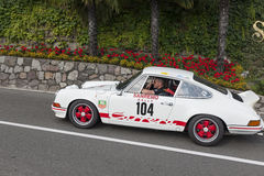 Il Tirolo del sud Rallye 2016_Porsche 911 Carrera 2-7 RS Immagini Stock