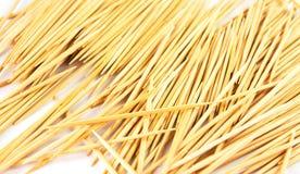 Il Toothpick ha isolato fotografie stock
