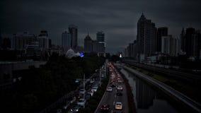 Il traffico di Shenzhen fotografie stock libere da diritti