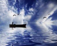 Il traghettatore Immagini Stock