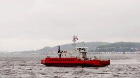Il traghetto a dunoon in Scozia Immagini Stock Libere da Diritti