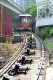 Il tram di punta Fotografia Stock