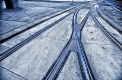 Il tram recinta Vienna Fotografie Stock Libere da Diritti