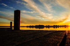 Il tramonto 3 Immagini Stock