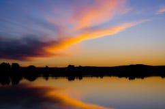 Il tramonto 2 Fotografia Stock Libera da Diritti