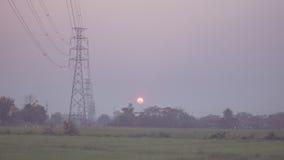 Il tramonto nel chaing MAI Immagini Stock Libere da Diritti
