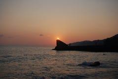 Il tramonto vede l'estate Immagine Stock Libera da Diritti