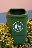Il trashcan Fotografia Stock Libera da Diritti